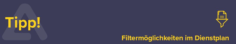 Nutzen Sie den neuen Plan-Filter